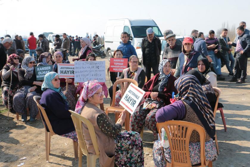 Yapılmak istenen JES'e karşı köylüler mücadele ediyor.