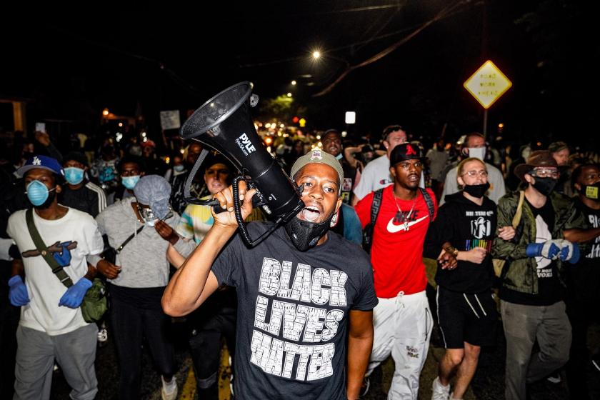The Banner of Black Lives Matter: Summer 2020