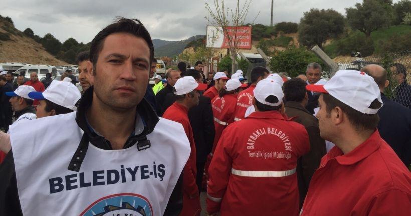 CHP'li Bayraklı Belediyesi'nde 5 işçi daha işten atıldı