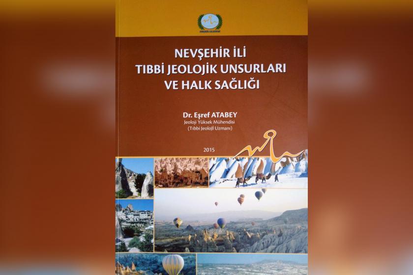 Nevşehir İli Tıbbi jeolojik Unsurları Ve Halk Sağlığı kitabının kapağı