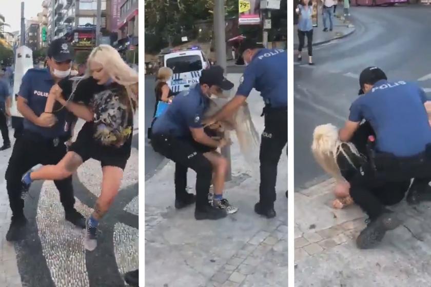 Kadıköy'de polis şiddetine maruz kalan Rana Batı yaşadıklarını ...