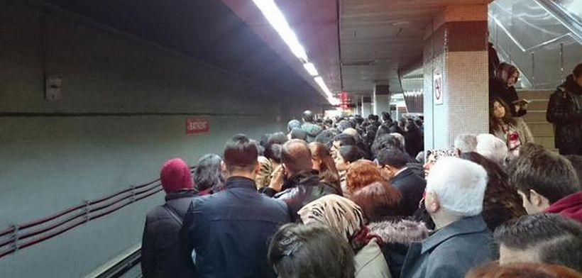 Ankara'da halkın metro öfkesi