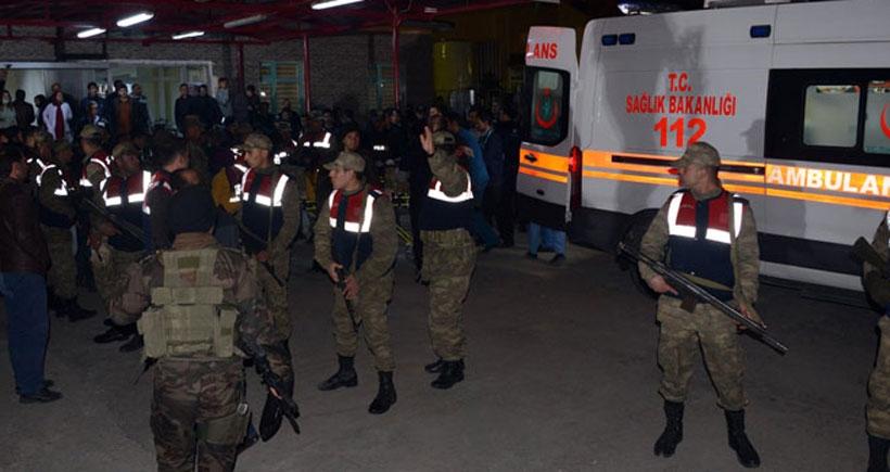 Askerlerin açtığı ateşle yaralanan İlboğa hastaneye getirildi