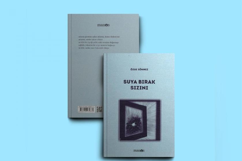 Suya Bırak Sızını kitabının ön ve arka kapağı