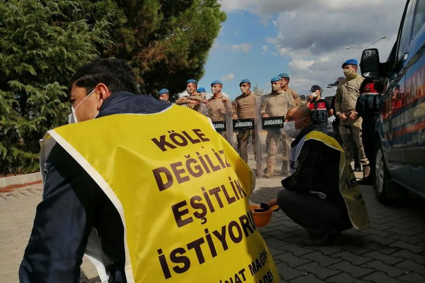 Miners walk to Ankara:Verdicts are reached but there is an absence of justice