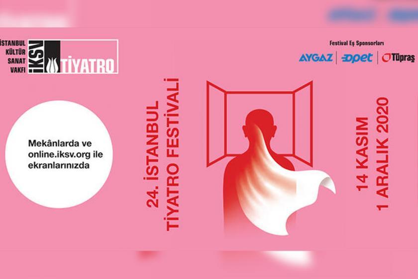 24. İstanbul Tiyatro Festivali tanıtım afişi