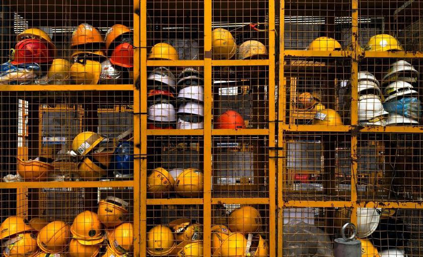 işçi baretleri