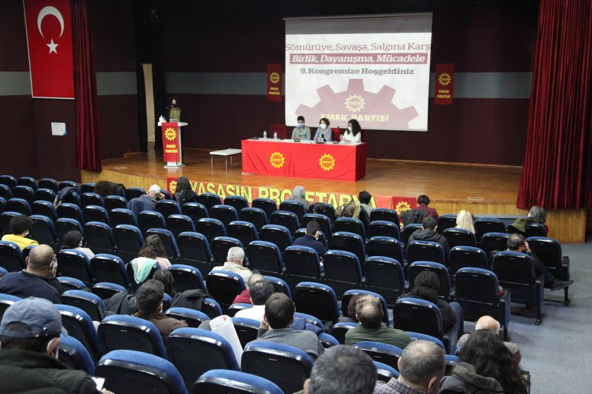 The Labour Party (EMEP) held its 9th Congress