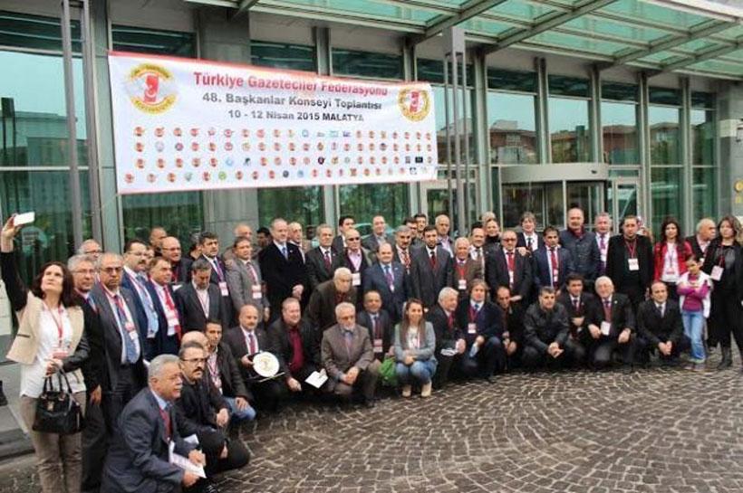 Türkiye Gazeteciler Federasyonu Konseyi toplandı
