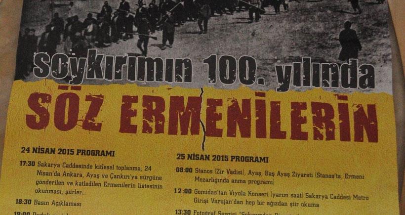 Soykırımın 100'üncü yılında 'Söz Ermenilerin'