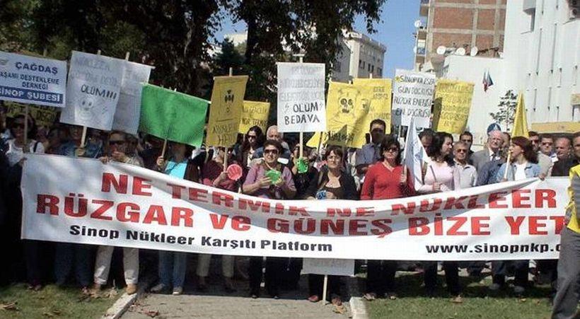 'Nükleer santraller ölüm demektir'