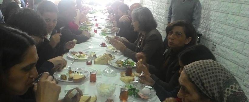 Maltepe'de dayanışma kahvaltısı