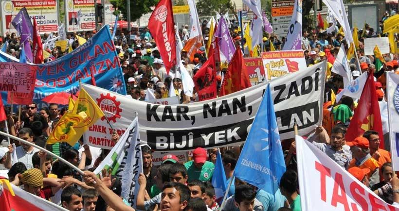 EMEP Kürdistan Örgütü: Özgür gelecek için 1 Mayıs'a