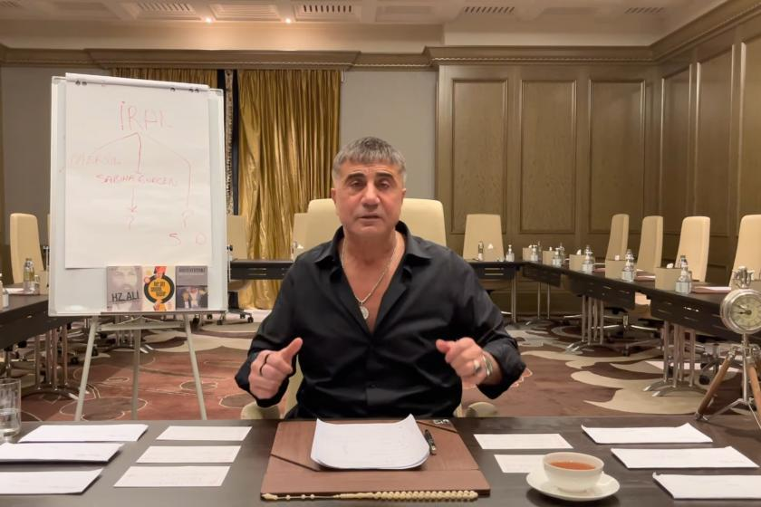 Sedat Peker'in YouTube kanalında yayımladığı videodan ekran alıntısı