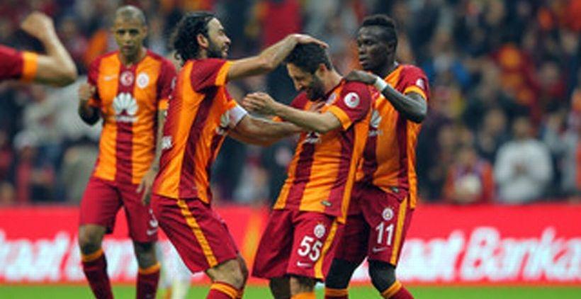 Galatasaray avantaj elde etti