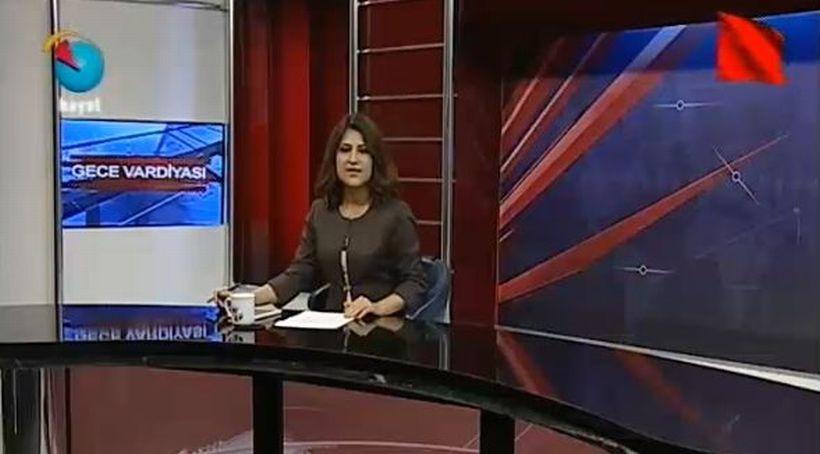 Hayat TV'de 1 Mayıs özel yayını 'kızıl bayrak'la başladı