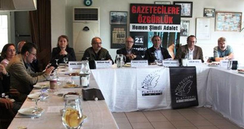 Gazeteci örgütlerinden çağrı: Gazetecilik için ayağa kalk