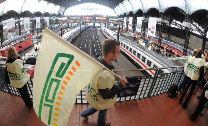 Almanya demiryollarında en uzun grev başlıyor