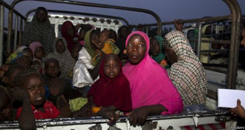 Boko Haram'dan kurtulan kadınlar: Her gün birimiz ölüyordu