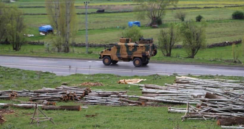 Bingöl'de askeri hareketlilik