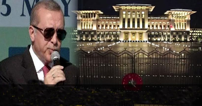 Erdoğan'a göre işçinin bin TL'si sarayın 1 milyar dolarından fazla