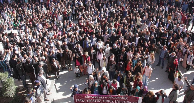 Hakkari halkı Ferinaz için sokağa çıktı