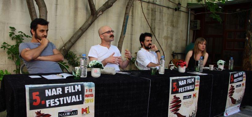 Nar Film Festivali'nde sinemacılar sansürü  konuştu