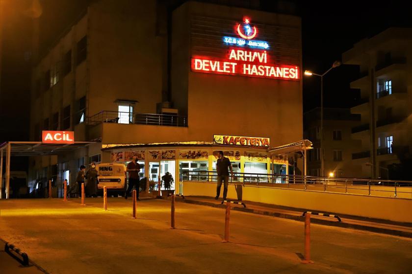 Arhavi Devlet Hastanesi binası