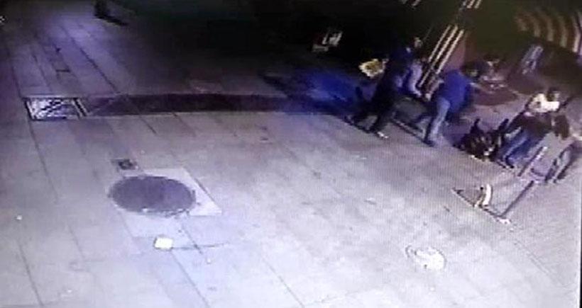 Bahadır Grammeşin cinayeti güvenlik kamerasında