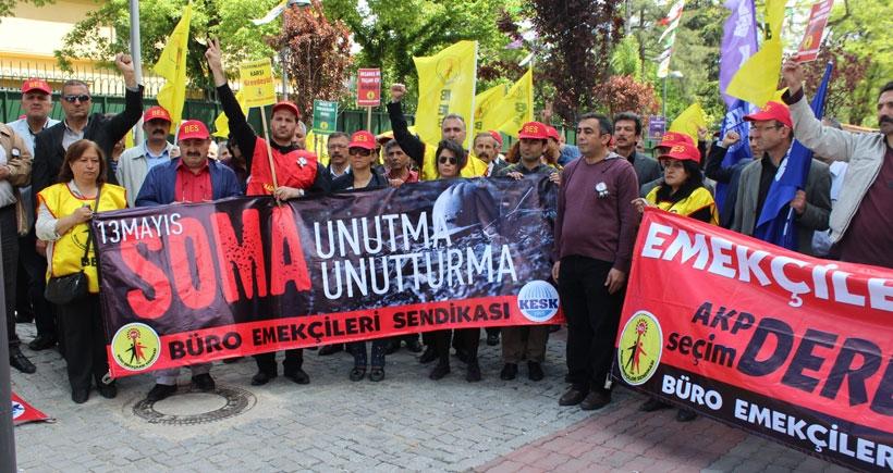 Büro emekçileri: Satış sözleşmesi istemiyoruz