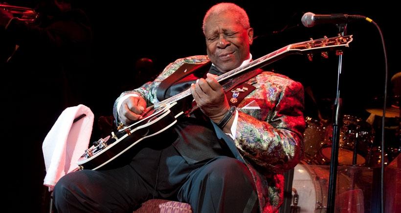 Blues Efsanesi B. B. King hayatını kaybetti
