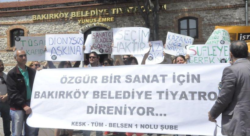 Bakırköy Belediyesi oyuncuları 16 Haziran'da seçime gidecek