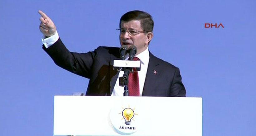 Davutoğlu'dan HDP binalarına saldırıyla ilgili açıklama