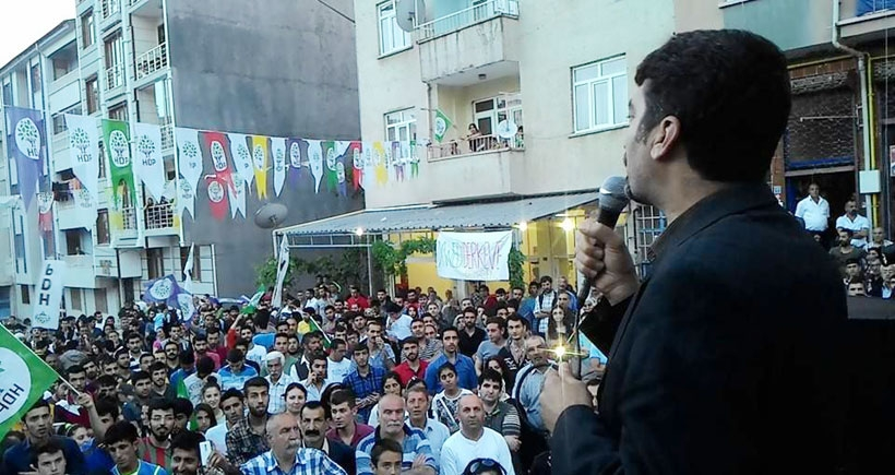 AKP'yi  durduracak tek güç HDP