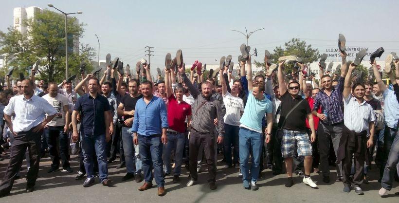 Direnişe mektuplar: Metal işçilerine enternasyonal destek