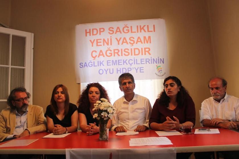 HDK Sağlık Meclisi: HDP, sağlıklı yeni yaşam çağrısıdır