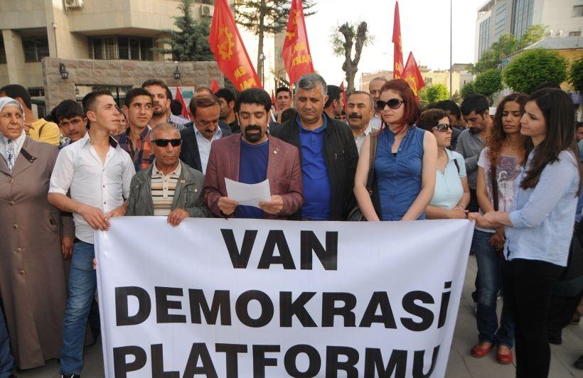 Van Demokrasi Platformu: Basının yanındayız