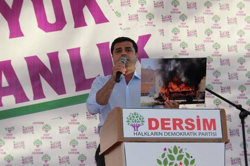 Demirtaş: HDP dışında verilen hiçbir oy AKP'ye zarar getirmez