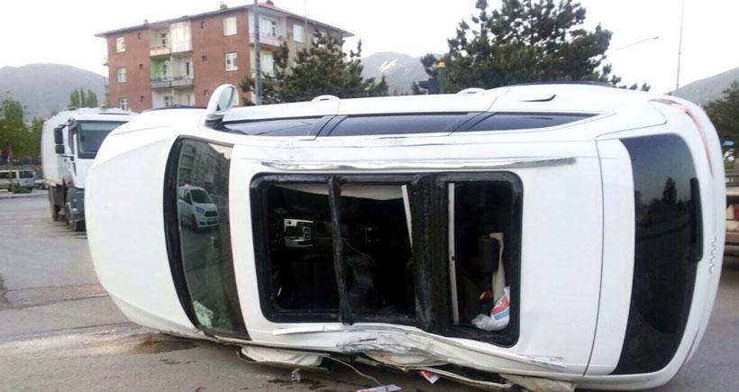CHP seçim aracı kaza yaptı: İlçe başkanı öldü