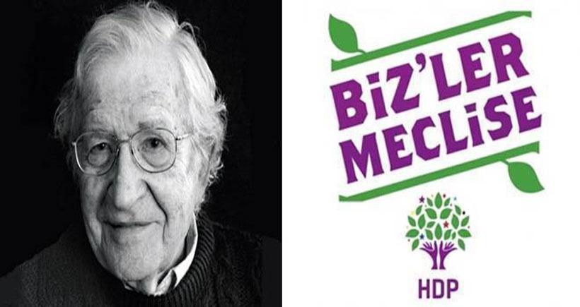 Chomsky: En büyük umut HDP'nin barajı geçip etkin güç olması