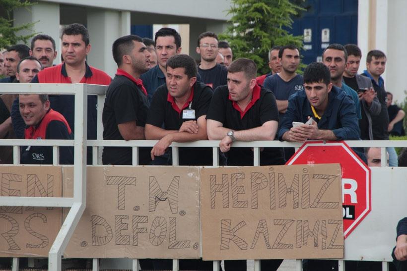 ORS işçileri sözlerin  tutulmasını bekliyor