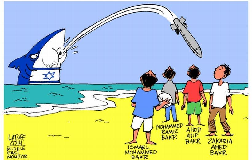İsrail çocuk  katillerini akladı