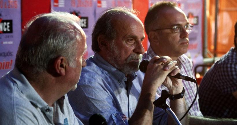 Kürkçü Atina'da 8. Uluslarası Direniş Festivali'ne katıldı