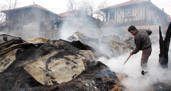 Evsiz kalan 29 kişinin tamamı inşaat işçisi