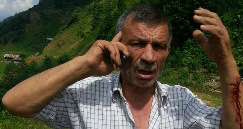 Yurttaş Kazım'a saldırı!