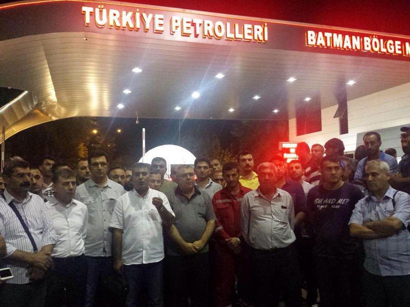 TPIC işçileri kitle örgütlerine yetki verdi