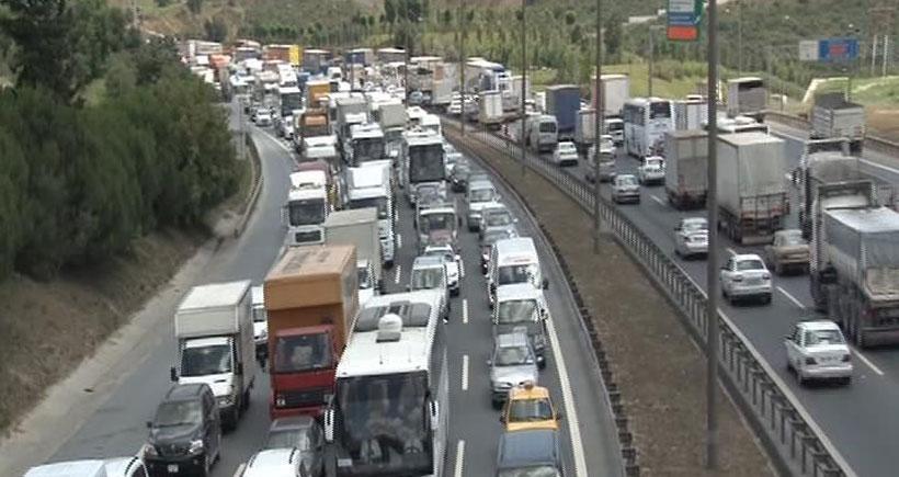 İstanbullu'nun bayram öncesi trafik çilesi