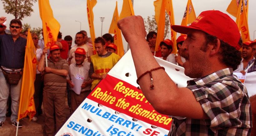 Sendikalaşma hakkı  için birlikte mücadele