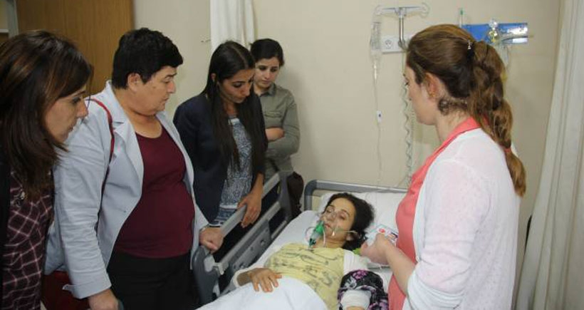 Polisten gazlı saldırı: 16 kişi hastaneye kaldırıldı