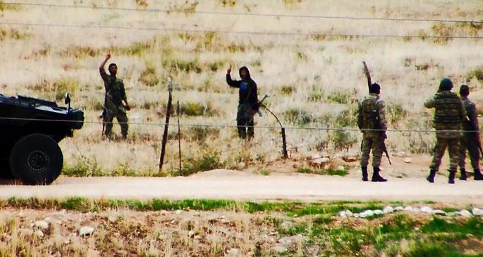 IŞİD'le TSK'nin samimi görüntüleri TBMM'de